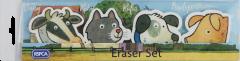 RSPCA Buttercup Farm Friends Large Eraser Set