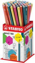 Stabilo HB Pencil Assorted Colours CDU