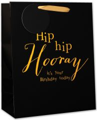 Wholesale Gift Bag Large Hip Hip Hooray It's your Birthday