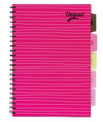 Pukka Pad Unipad A4 Project Book 200 Pages Assorted Colours CDU