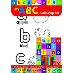 ABC Colouring Set