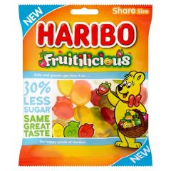 Haribo Fruitilicious 30% Less Sugar 120g