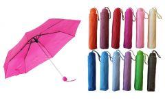Umbrella Compact Bright Coloured Assortment