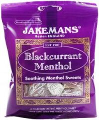 Jakemans Soothing Menthol Sweets - Blackcurrant Menthol 100g
