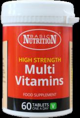 Basic Nutrition High Strength Multi Vitamins 60's