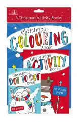 3 Pack Christmas Activity Set