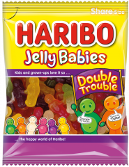 Haribo Jelly Babies Double Trouble 140g