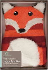 Aroma Home Knitted Hottie - Fox