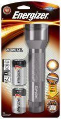 Energizer LED Metal Handheld Torch 2xD