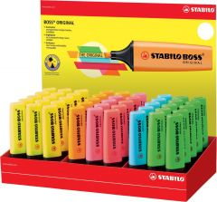 Stabilo Boss Original Highlighters Assorted Colours CDU