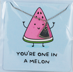 For The Pun Of It - You're One In A Melon Necklace