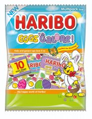 Haribo Eggs Galore! MultipackBag 160g (10x 16g)