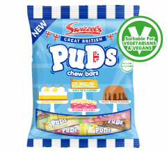Wholesale Swizzels Great British Puds Chew Bars £1 PMP