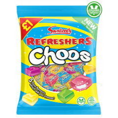 Wholesale Swizzels Refresher Choos £ PMP 135g