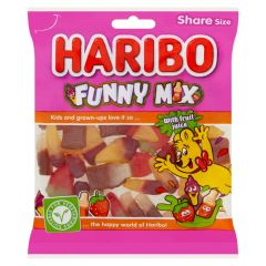 Haribo Funny Mix 160g - best before end 09/21