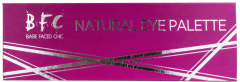 Bare Faced Chic Natural Eyeshadow Palette in Tin