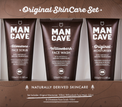 Man Cave Original Skincare 3 Piece Gift Set