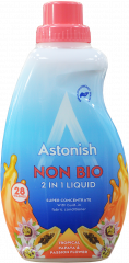 Astonish Papaya & Passion Fruit Non-Bio 2 in 1 Laundry Liquid 28W 840ml