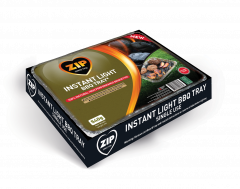 Zip Instant Light Disposable BBQ Tray