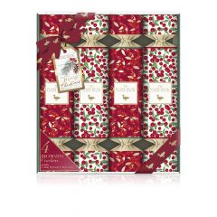 Baylis & Harding Fuzzy Duck Winter Wonderland 4 Crackers Set