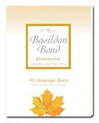 Basildon Bond Champagne Writing Pad Duke 40 Sheets