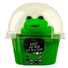 The Soap Story Ribbit The Frog Toy in Soap 90g