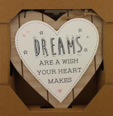 Love Life Plaque - Dreams