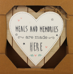 Love Life Plaque - Meals