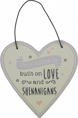 Love Life Plaque Small - Home