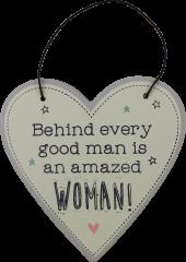 Love Life Plaque Small - Good Man