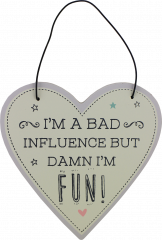 Love Life Plaque Small - Influence