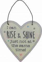 Love Life Plaque Small - Rise