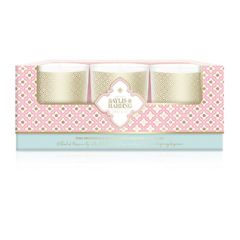 Baylis & Harding Pink Prosecco & Elderflower 3 Piece Candle Set