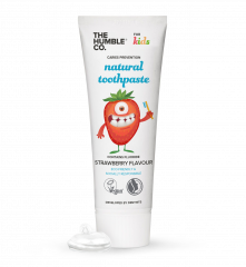 Humble Natural Toothpaste For Kids - Strawberry 75ml