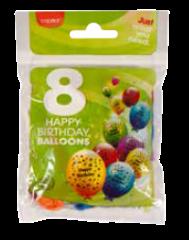 Capitol 8 Birthday Balloons