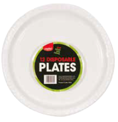 Capitol 12 Party Plates