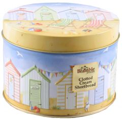 Bramble Shortbread Seaside Tin 100g