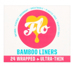 Flo Bamboo Liner Pack (24 Liners, Wrapped)
