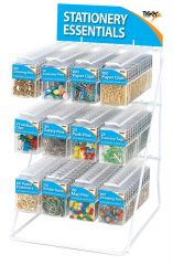 Essentials Stand Complete With Stock Of 120 Assorted Hang Packs