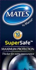 Mates SuperSafe Protect Condoms 10's