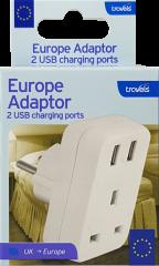 European USB Adaptor