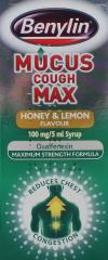 Benylin Mucus Cough Max Honey & Lemon 150ml