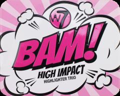 W7 Bam! Highlighter Trio Set