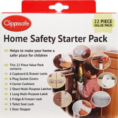 Clippasafe Safety Starter Pack (UK Socket Covers) (22 pcs)