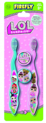 L.O.L Surprise Twin Pack Toothbrushes & Twin Caps