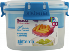 Sistema Snacks To Go Food Storage Container 400ml