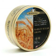 Simpkins Barley Sugar Travel Sweet Tins 200g