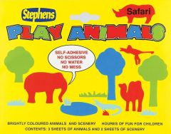 Stephens Animal Play Shapes Display
