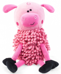 Noodly Pig Dog Toy
