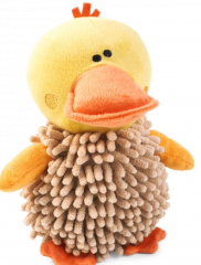 Noodly Duck Dog Toy